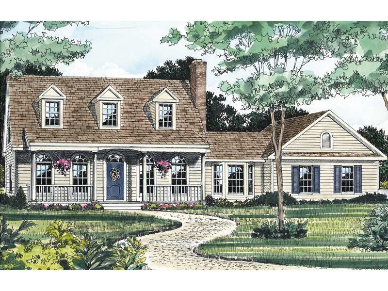 Affordable Country-Style Home