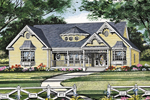 Southern House Plan Front Image - 016D-0053 | House Plans and More