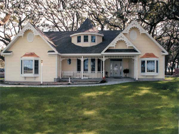 Heatherstone Victorian Home Plan D    House Plans and More