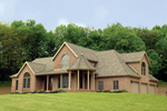 Country House Plan Front of Home - 016D-0058 | House Plans and More