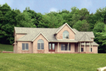 Country House Plan Front Photo 01 - 016D-0058 | House Plans and More