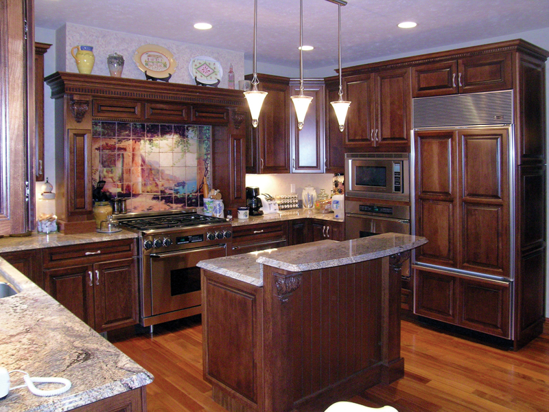 Country House Plan Kitchen Photo 01 016D-0058