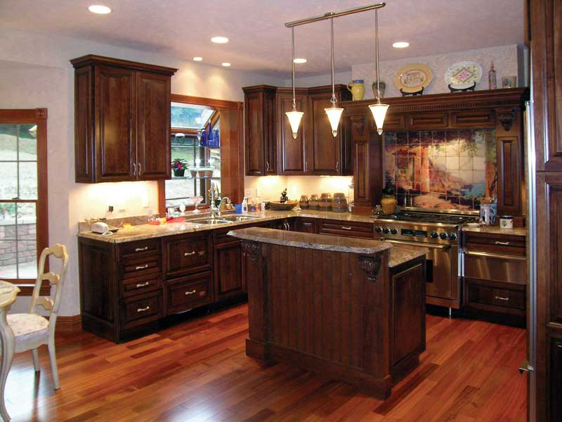 Country House Plan Kitchen Photo 04 016D-0058