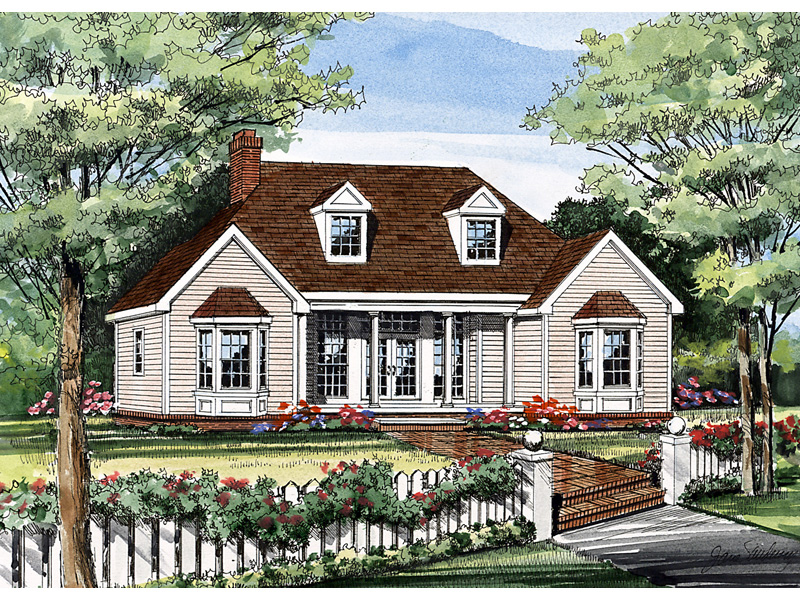 Ranch House Plan Front Image - 016D-0062 | House Plans and More