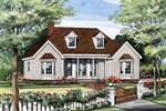 Traditional House Plan Front Image - 016D-0062 | House Plans and More