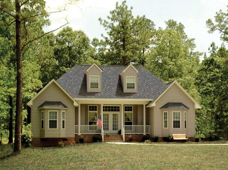 Traditional House Plan Front of Home - 016D-0062 | House Plans and More