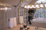 Luxury House Plan Master Bathroom Photo 01 - 016D-0064 | House Plans and More