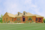 Craftsman House Plan Front Photo 01 - 016D-0065 | House Plans and More