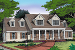 Cape Cod Design With Colonial And Greek Revival Impressions