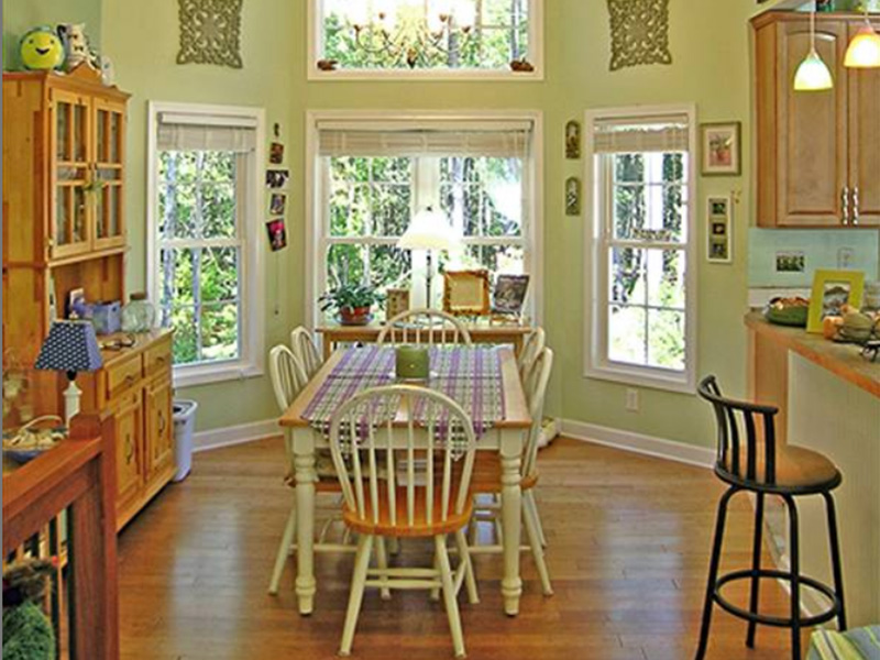 Vacation House Plan Dining Room Photo 02 - 016D-0078 | House Plans and More