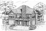 Vacation House Plan Front Image of House - 016D-0078 | House Plans and More