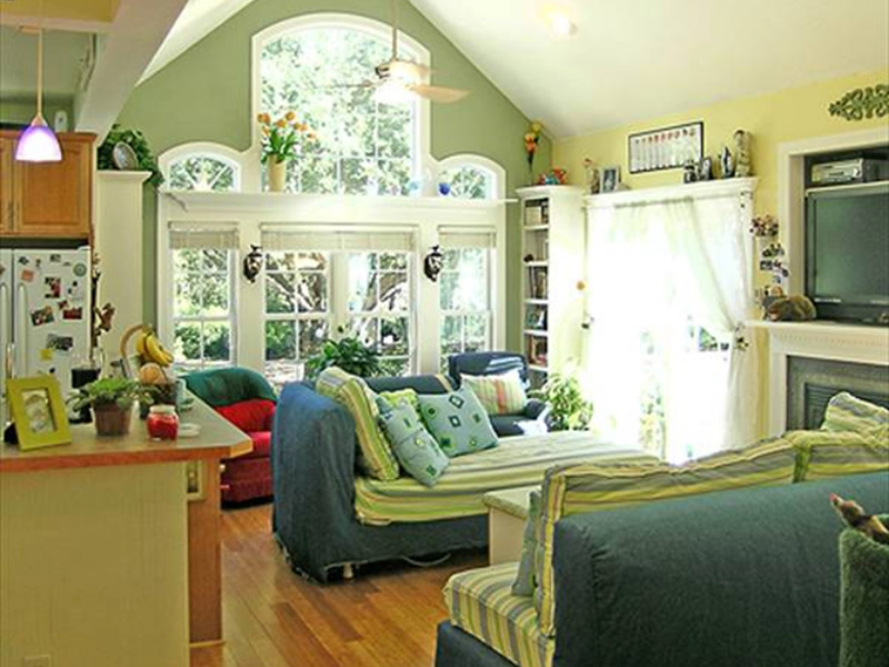Vacation House Plan Great Room Photo 02 - 016D-0078 | House Plans and More