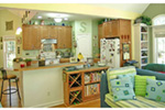 Vacation House Plan Kitchen Photo 01 - 016D-0078 | House Plans and More