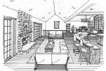 Vacation House Plan Living Room Photo 01 - 016D-0078 | House Plans and More
