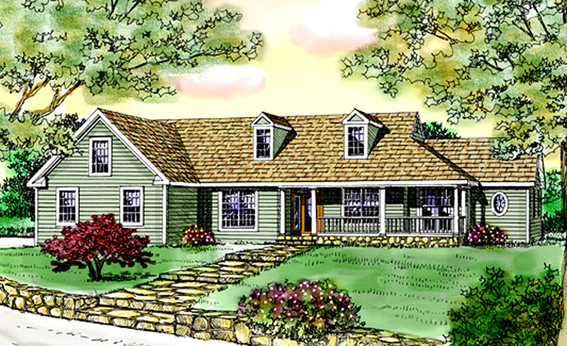 Quaint Country Plan With Relaxing Appeal