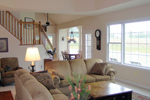 Cape Cod and New England Plan Great Room Photo 01 - 016D-0095 | House Plans and More