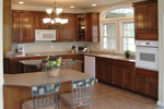 Cape Cod and New England Plan Kitchen Photo 02 - 016D-0095 | House Plans and More