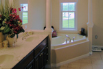 Cape Cod and New England Plan Master Bathroom Photo 02 - 016D-0095 | House Plans and More