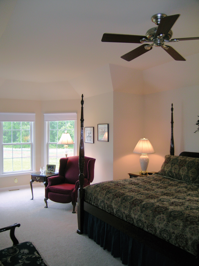 Cape Cod and New England Plan Master Bedroom Photo 01 016D-0095
