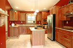 Traditional House Plan Kitchen Photo - 016D-0096 | House Plans and More