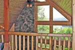 Cabin and Cottage Plan Balcony Photo - 016D-0102 | House Plans and More