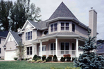 European House Plan Front of Home - 016D-0103 | House Plans and More