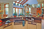 Prairie Style Floor Plan Kitchen Photo 01 - 016S-0001 | House Plans and More