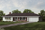 Sweeping Ranch Design With Hip Roof