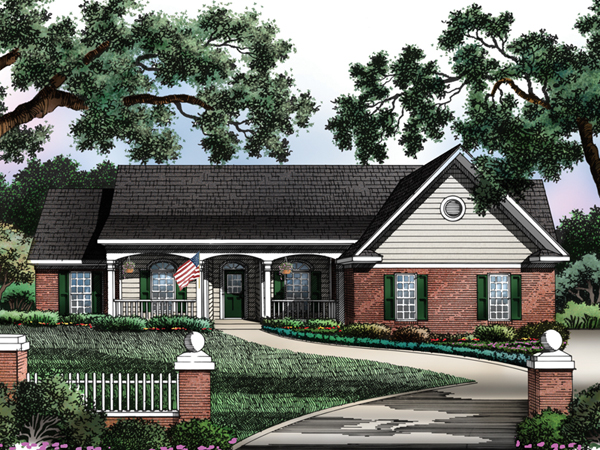 Dayton spring ranch home plan 019d 0011 house plans and more for Dayton home designs