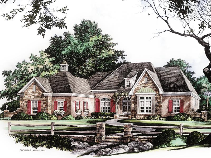 Phillipsburg Place European Home Plan 019d 0020 House
