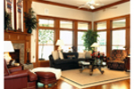Craftsman House Plan Great Room Photo 01 - 019S-0001 | House Plans and More