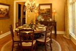 European House Plan Dining Room Photo 01 - 019S-0003 | House Plans and More