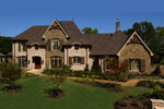 Rustic Two-Story Craftsman Home Design