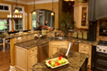 European House Plan Kitchen Photo 01 - 019S-0003 | House Plans and More