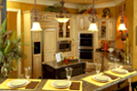 European House Plan Kitchen Photo 02 - 019S-0003 | House Plans and More