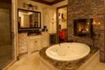 Luxury House Plan Master Bathroom Photo 01 - 019S-0003 | House Plans and More