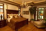 Luxury House Plan Master Bedroom Photo 01 - 019S-0003 | House Plans and More