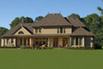 European House Plan Rear Photo 01 - 019S-0003 | House Plans and More