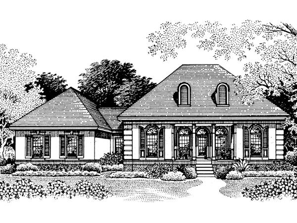 Limestone creek european home plan 020d 0002 house plans for Limestone house plans
