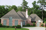 Brick Ranch Home With Private Courtyard Entry