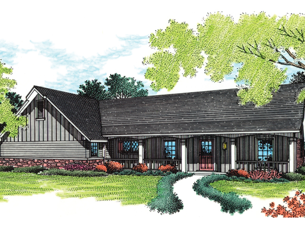 Drummond rustic ranch home plan 020d 0021 house plans for Rustic ranch house plans