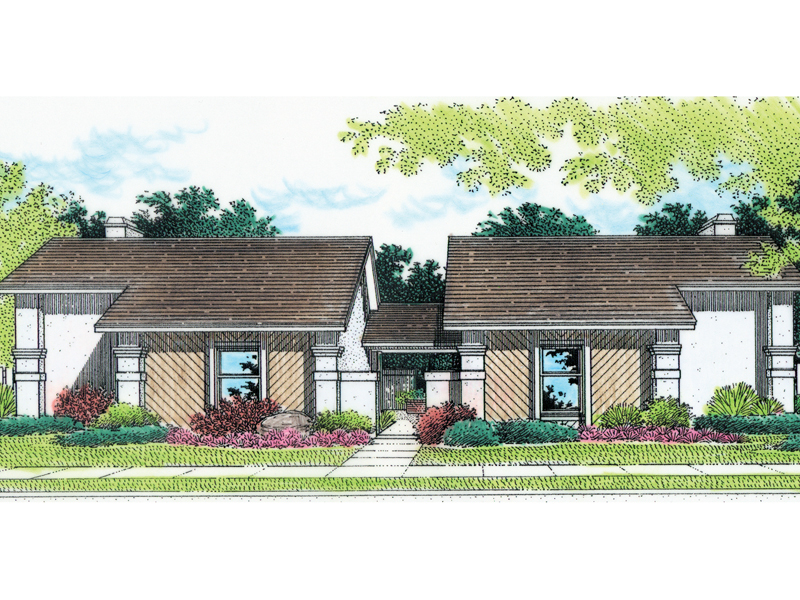 Tudor House Plan Front of Home - 020D-0025 | House Plans and More