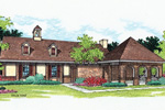 Ranch House Plan Front of Home - 020D-0029 | House Plans and More