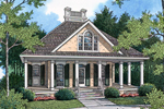 Roof Ornamentation And Large Gable Window Add To This Ranch