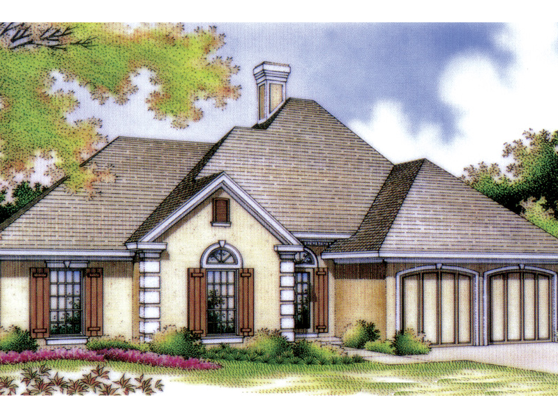 valley spring stucco ranch home plan 020d 0051 house