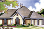 Simple Stucco Ranch Home With Corner Quoin Accents