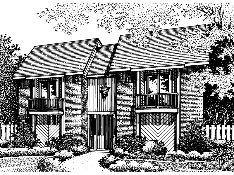 European House Plan Front of Home - 020D-0065 | House Plans and More