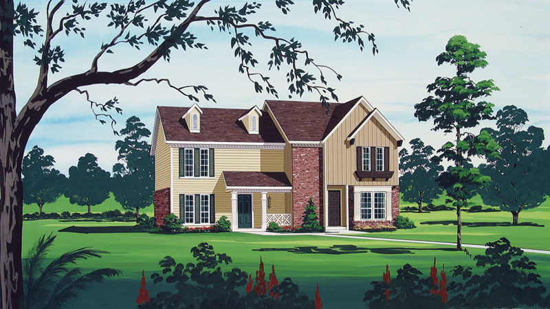 Country House Plan Front of Home - 020D-0073 | House Plans and More