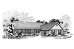 Country House Plan Front Image of House - 020D-0076 | House Plans and More