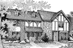 Two-Story Tudor Style Multi-Family Home